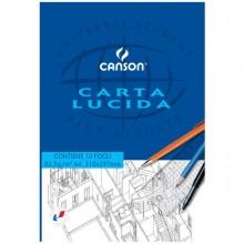 63702 - Blocco Carta Lucida Manuale 210X297Mm 10Fg 80Gr Canson 200005825 - CONF.25 -