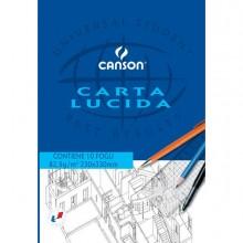 63703 - Blocco Carta Lucida Manuale 230X330Mm 10Fg 80Gr Canson 200005826 - CONF.25 -