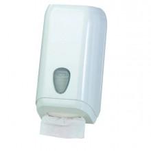 64275 - Dispenser Carta Igienica In Fogli Bianco Mar Plast -