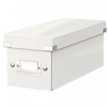 64471 - Scatola Archivio Cd Clickstore Bianco Metal -
