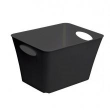 64566 - Contenitore Living Box 43,1x32,1x26Cm - 24Lt Nero -