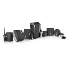 67395 - Dispenser Carta Igienica Midi Jumbo diam.23Cm Nero Soft Touch -