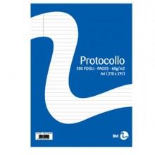 71066 - Fogli Protocollo A4 60gr 20fg 1Rigo Bm -