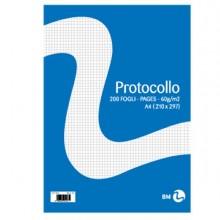 71068 - Fogli Protocollo A4 60gr 20fg 4mm Bm -