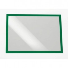 Cornice Magnetica Duraframe A3 - 29,7X42Cm Verde Durable 4873-05 - CONF.2