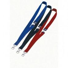 71692 - 10 Cordoncini Portabadge 20mm Blu Durable -