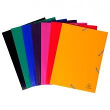 71880 - Cartella Ppl Con Elastico 24X32Cm Mix 7 Colori 55900E - CONF.60 -