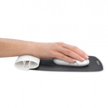 Mousepad Con Poggiapolsi Bianco I-Spire Fellowes