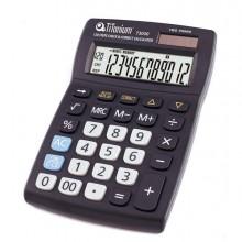 73030 - Calcolatrice Da Tavolo 12 Cifre 73030 Titanium -