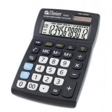 73032 - Calcolatrice Da Tavolo 12 Cifre 73032 Titanium -