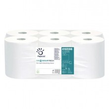74016 - Asciugamani In Rotolo Autocut Microgoffrato 2Veli Diam.18,5Cm Dissolvetech 406348 - CONF.6 -