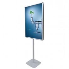 74584 - Cornice a scatto Autoportante 70x100 Bifacciale Info Pole Design -