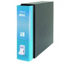 Registratore Dox 2 Azzurro Capri Dorso 8Cm F.To Protocollo Esselte