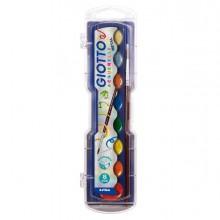 76269 - Colori Acquerelli Metal In 8 Colori Giotto -
