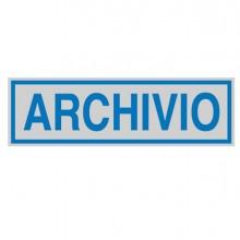77180 - Targhetta Adesiva 165X50Mm Archivio 96689 - CONF.10 -