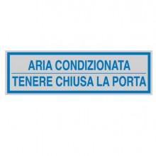 77189 - Targhetta Adesiva 165X50Mm Aria Condizionata ... 96694 - CONF.10 -
