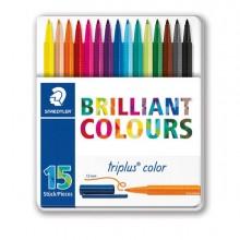 79467 - Astuccio 15 Triplus Color Pennarello Punta 1,00mm Colori Assortiti Staedtler -