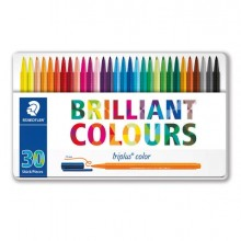 79468 - Astuccio 30 Triplus Color Pennarello Punta 1,00mm Colori Assortiti Staedtler -