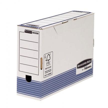 80321 - Scatola Archivio Legale Dorso 100Mm Bankers Box System 0030801 - CONF.10 -