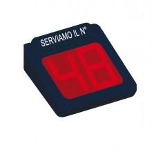 80950 - Display 2 digits per sistema elimina code Printex -