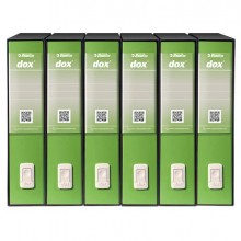 Registratore Dox 2 greenery Dorso 8Cm F.To Protocollo Esselte