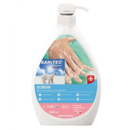 82741 - Sapone Liquido 1Lt Con Antibatterico Securgerm Sanitec -