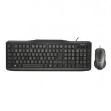 82814 - Set Classicline (Tastiera Con Filo + Mouse Con Filo) - Trust -