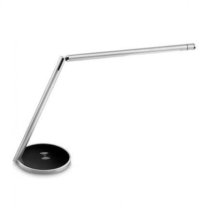 82996 - Lampada Da Tavolo Led Smart Qi 5W Silver Cled-0117 Cep -