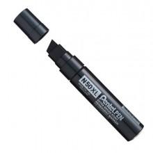 Marcatore N50 Extra Large Nero Punta A Scalpello 8-15,4mm Pentel
