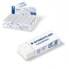 83271 - Box 45 Gomme Rasoplast Mini 526 B45 Bianca Per Matita Staedtler -