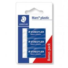 83272 - Blister 3 Gomme Marsplastic Mini 526 53 Bianca Staedtler -