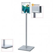 83296 - Display Catching Pole Standard A3 Bifacciale -