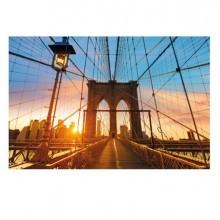 Quadro In Plexiglass 60x80Cm Ponte Di Brooklyn