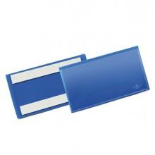 83500 - 50 Buste Identificazione Con Bande Adesive 150x67mm 1762 Durable -