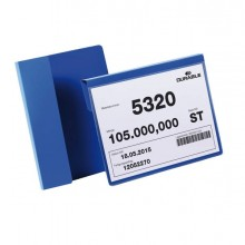 83503 - 50 Buste Identificazione Con Aletta 210x148mm (A5-Oriz) 1722 Durable -