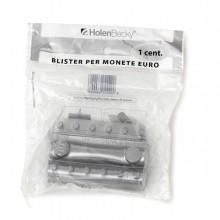 83532 - Blister 20 Portamonete In Pvc 1Cent Trasparente -