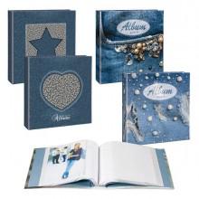 83565 - Album 100 Foto13x19 Copertina In Fantasie Assortite Lebez -