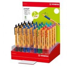 83928 - 6030/32-1 Espositore 32 Penne Pointball Colori Assortiti Stabilo -