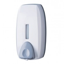 86216 - Dispenser Basica Mousse 750Ml Bianco/grigio -