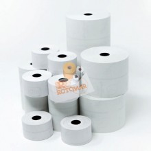 86535 - Blister 10 rotoli RC carta termica BPA free FSC 55gr 57,5mm x 50mt diam.64mm -