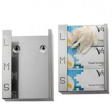 86711 - Dispenser Per Guanti Monouso In Acciaio Inox -