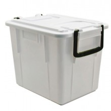 86752 - Contenitore Con Coperchio 20Lt Bianco Foodbox -