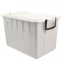 86754 - Contenitore Con Coperchio 60Lt Bianco Foodbox -