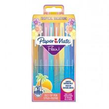 86872 - Astuccio 16 Colori Tropical Pennarello Flair Nylon Papermate -
