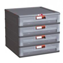 87035 - Cassettiera In Pp 4 Cassetti Mopla 104Bis -