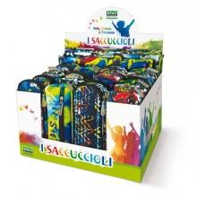 87371 - 80882 Expo 16 Astucci E 8 Sacchi I Saccuccioli F.Ti Ass. Street Art Lebez -