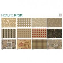 88306 - Scatola 100fg carta regalo Natura Kraft 70X100cm SADOCH -