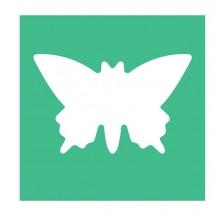 Fustella con motivo Farfalla dim. 25mm CWR