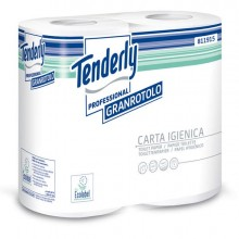 Pacco 4 rotoli Carta Igienica 432 strappi Tenderly