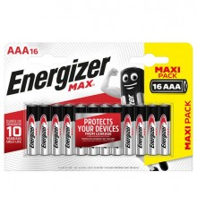 89483 - Blister 16 pile ministilo AA A - Energizer Max -